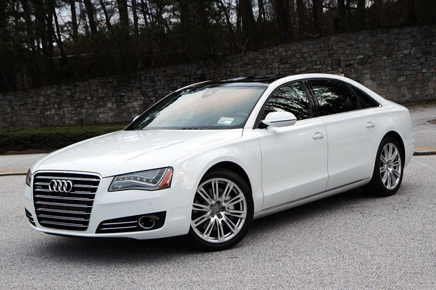 2014-Audi-A8-L-TDI-Front-Side-View